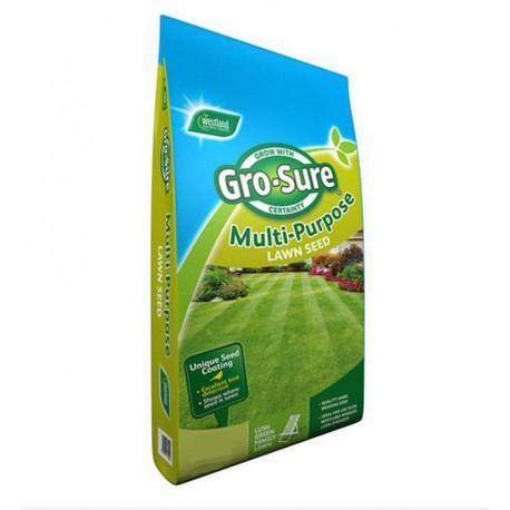 Gro-sure Multi Purpose Lawn Seed 120m2 Bag