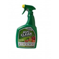 Bug Clear Fruit & Veg Ready To Use Spray 800ml