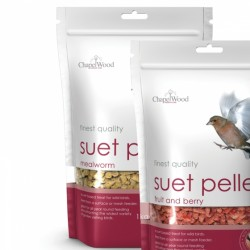 Chapelwood Best Quality Suet Pellets Mealworm 500g