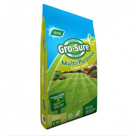 Gro-sure Multi Purpose Lawn Seed 300m2 Bag