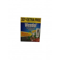 Weedol Pathclear Weedkiller 8x Tubes Of Liquid Concentrate