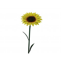 Fountasia Garden Sunflower Flower Metal Stake