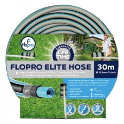 Flopro Elite Hose 6 Layer Reinforced Hose 30m Life Time Guarantee