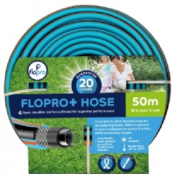 Flopro+ Hose Four Layer Reinforced Hose 50m 20 Year Guarantee