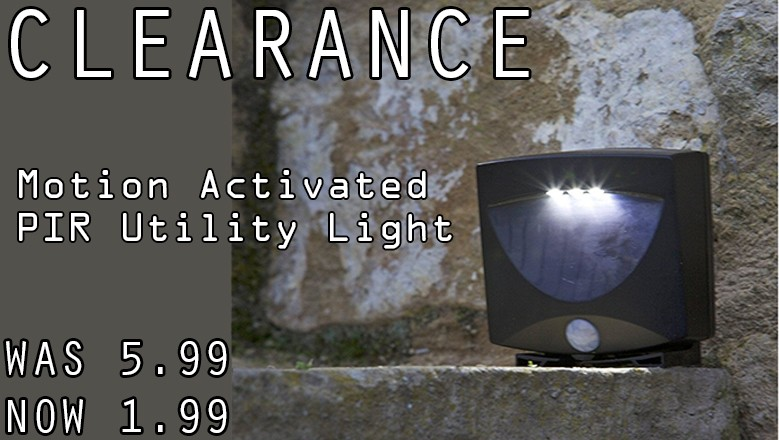 Clearance PIR Light